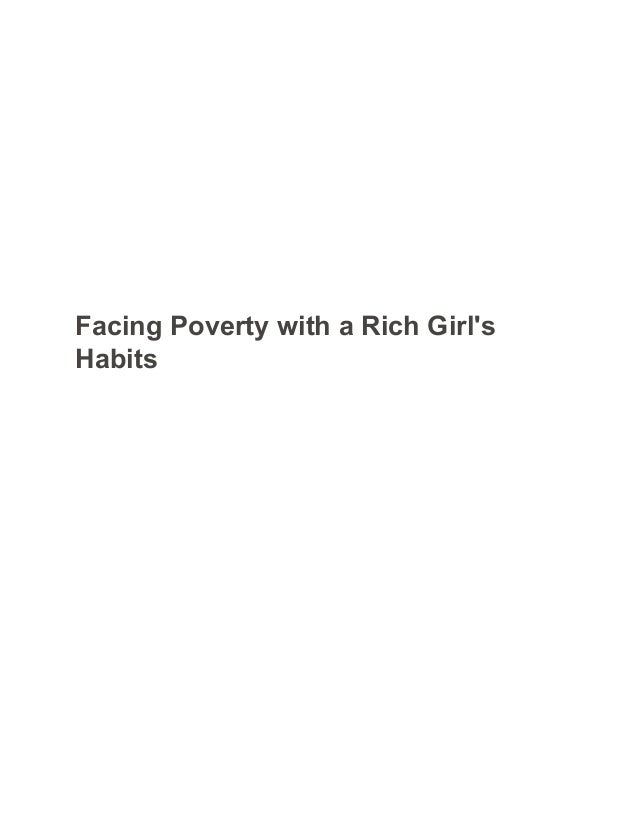 facing poverty with a rich girl