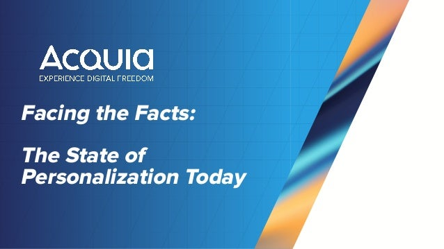 Facing the Facts: The State of Personalization Today