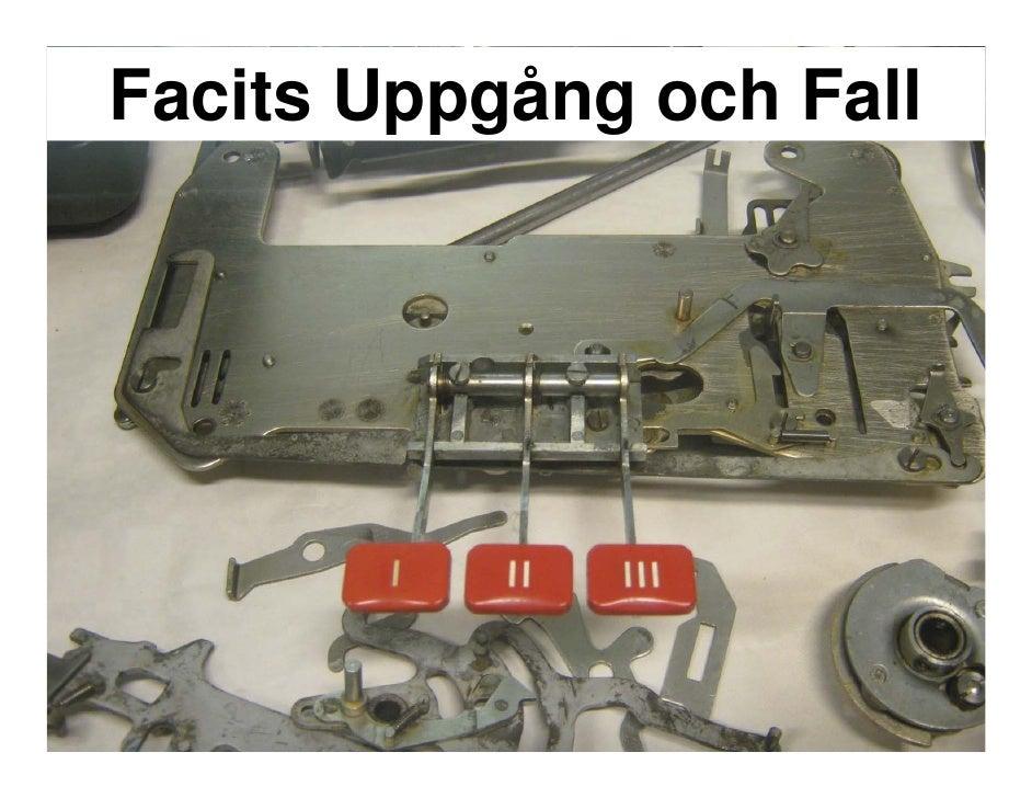 Facits Uppgång och Fall