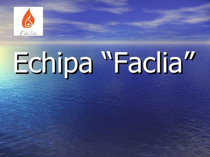 """<ul><li>Echipa """"Faclia"""" </li></ul>"""