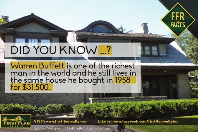 Warren Buffett Is One Of The Richest Man In The World And He Still Li