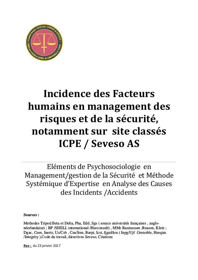 Human And Organization Factors