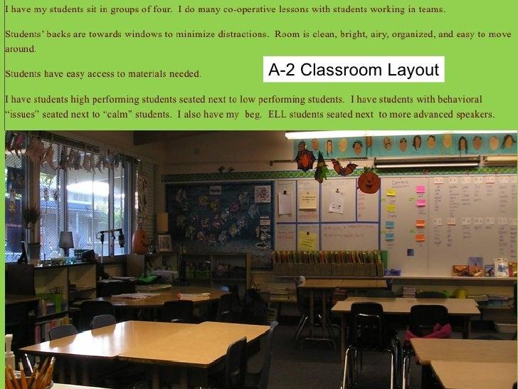 A-2 Classroom Layout