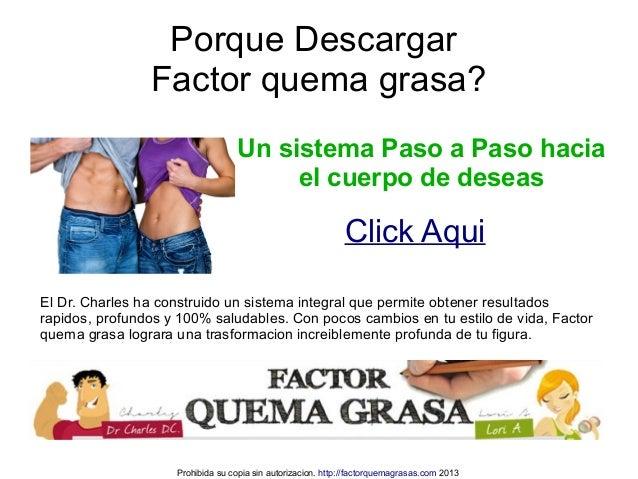 Factor Quema Grasa Descargar Completo Slide 3