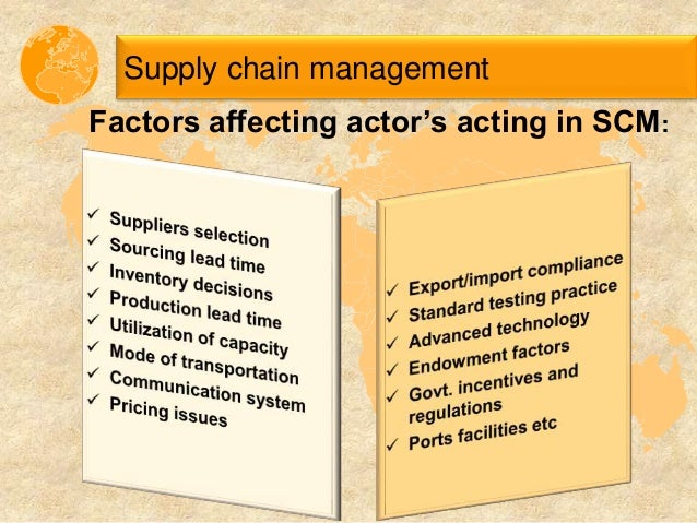 factors affecting retailers selection of suppliers 8 factors that influence the supply of a it cannot be considered as supply of wheat as the price and time factors are price of a product affect its supply to.