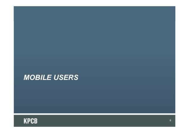 MOBILE USERS6