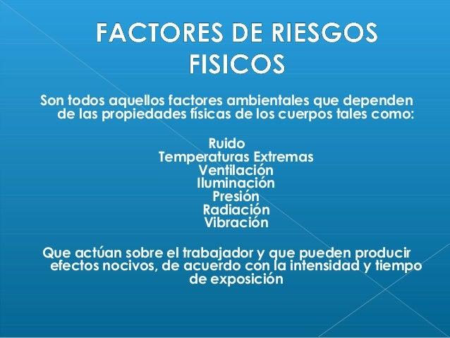 Factores de riesgo Slide 2