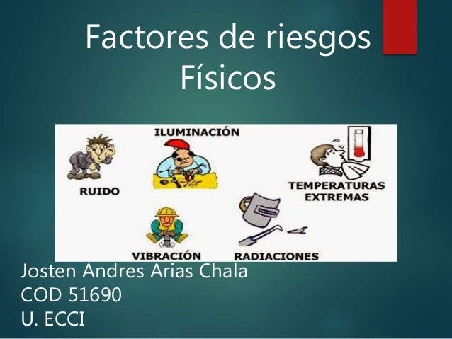 Factores De Riesgos F 237 Sicos Ruido Vibraci 243 N E Iluminaci 243 N