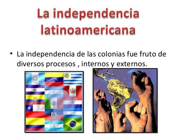 Factores Internos Y Externos Independencia