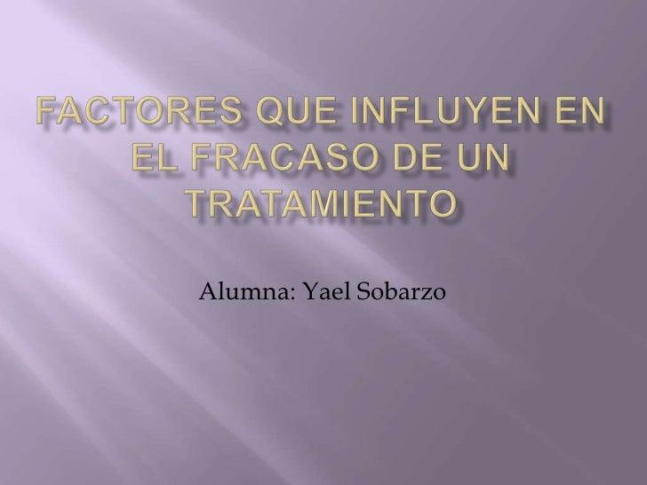 Alumna: Yael Sobarzo