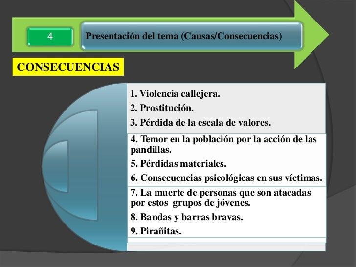 Resultado de imagen para causas y efectos de la delincuencia