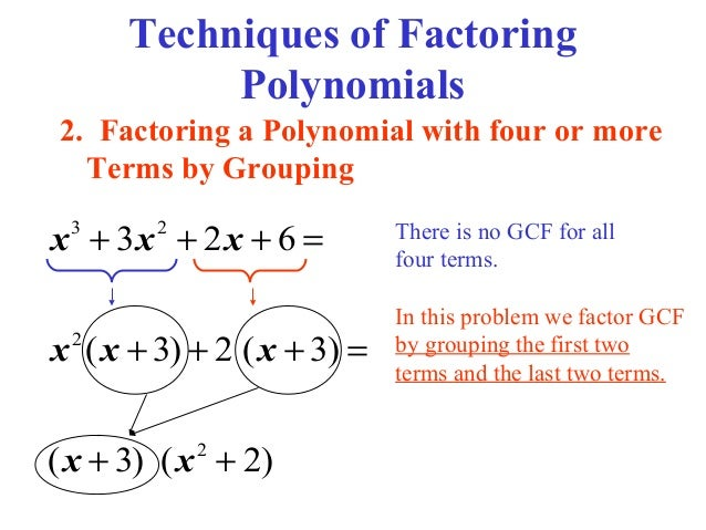 Factoring and Box Method – Algebra 2 Factoring Polynomials Worksheet