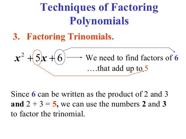 Factoring and Box Method – Factoring Quadratic Trinomials Worksheet