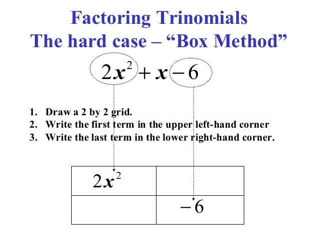 Factoring Trinomials Worksheet – careless.me