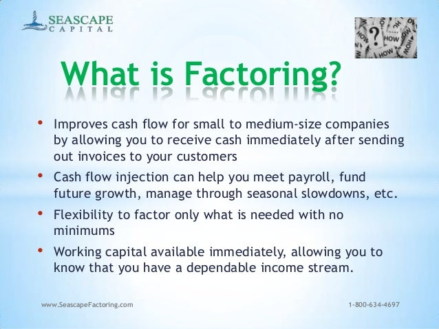 Invoice factoring basics for What is invoice factoring and how is it used