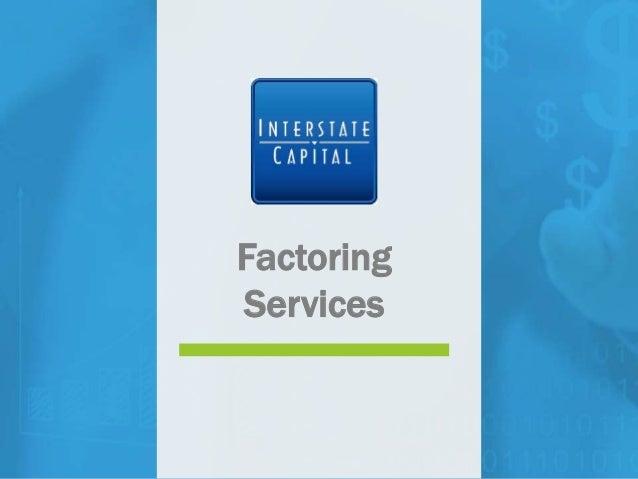Factoring Services Factoring Services