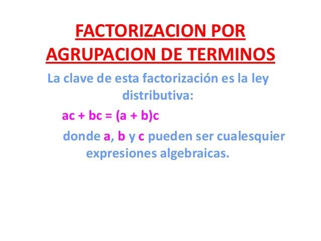 1.- Factorizar por Agrupacion233232232364966496222323xxxxxxxxxxx