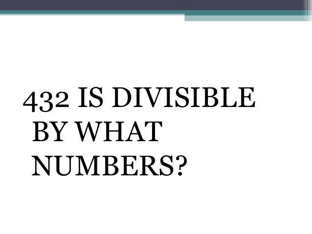 Divisibility Rules of numbers from 1 to 20   Basic math education