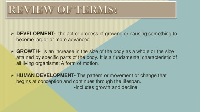 factors affecting growth and development in humans