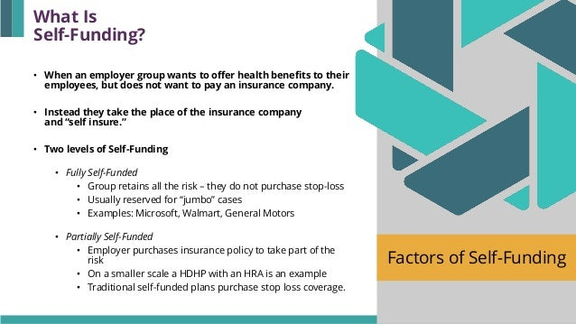 Factors Of Self Funding Evaluating The Pros And Cons
