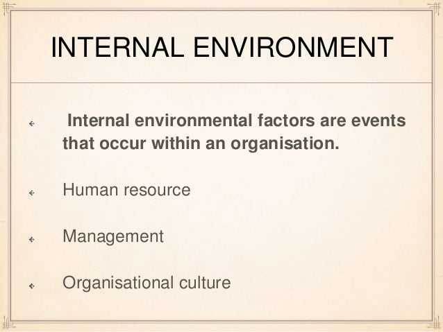 External and environment factors affecting tata