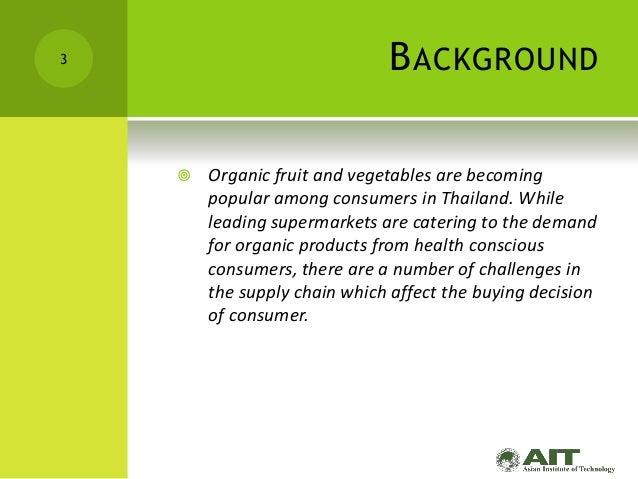 Factors Affecting Consumer Buying Behavior of Organic