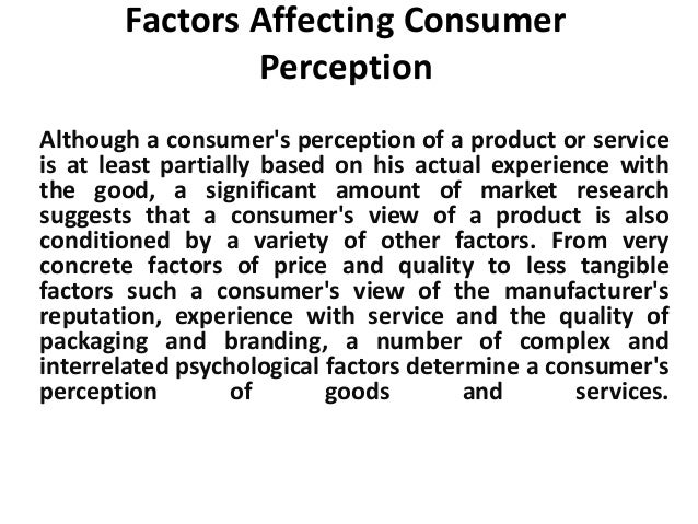 factors affecting customer perception In the competitive wireless market, there are many drivers behind customer  defection switching barriers, service performance, perceived value in carriers'  offers,.