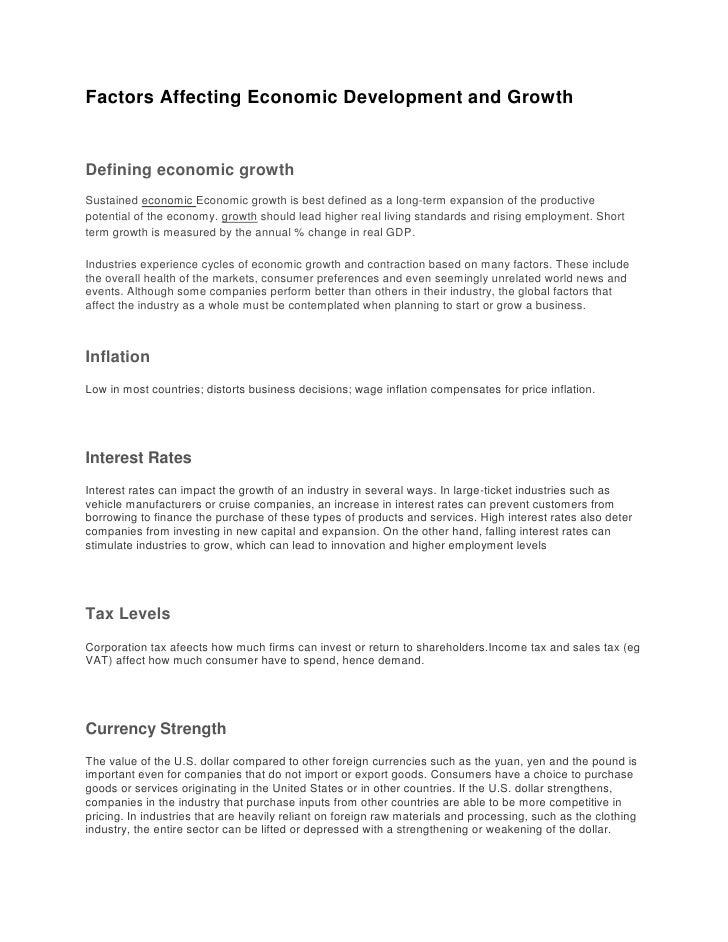 factors affecting sales in retail