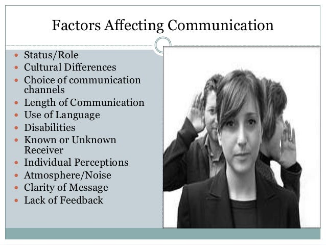8 Factors Influencing the Business Communication