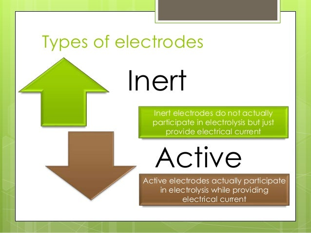 how does concentration affect electrolysis