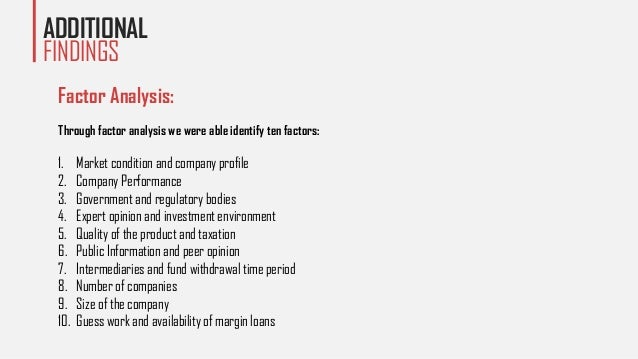 factors affecting investment decisions of an indian investor Factors affecting dividend policy of a firm are  investment decisions wacc  a retired shareholder will have a different requirement vis-a-vis a wealthy investor.