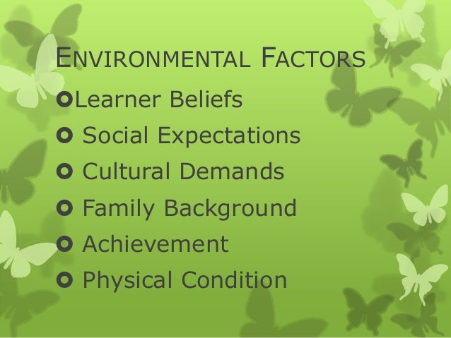 factors affecting the learners' achievement in Factors influencing student achievement: 8 factors that impact ayp this  session explores the factors impacting students making adequate.