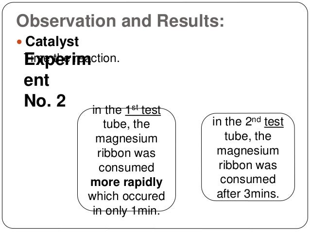 chemistry coursework rate reaction magnesium ribbon Research question: if magnesium ribbon is replaced with an equivalent weight of  powered  of aqueous reactants on the rates of acid-base chemical reactions.