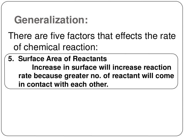 chemistry coursework rate reaction variables Practical chemistry experiment & investigation practical investigations laboratory skills development using standard techniques following standard procedures acid-base behaviour physical change mixing & dissolving rates of chemical reactions reaction kinetics experimental techniques investigating factors affecting rate the definition of rate.