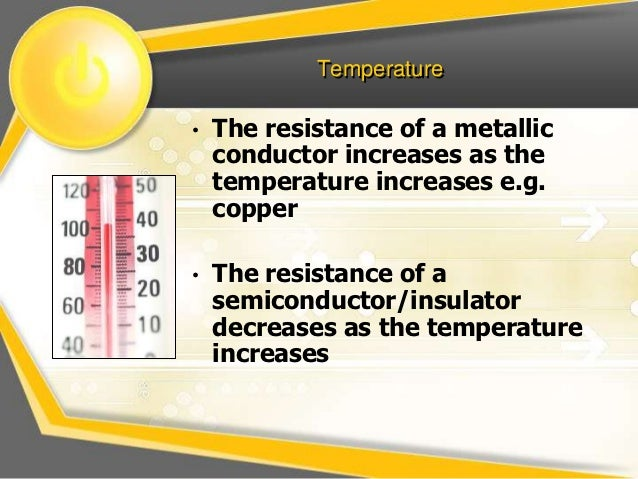 factors affecting electrical resistance This digital multimeter measurement tutorial recommends tips and techniques for making accurate resistance measurements since the offset voltage is present in both cycles, it is subtracted out and does not affect the resistance the following figure illustrates the factors affecting.