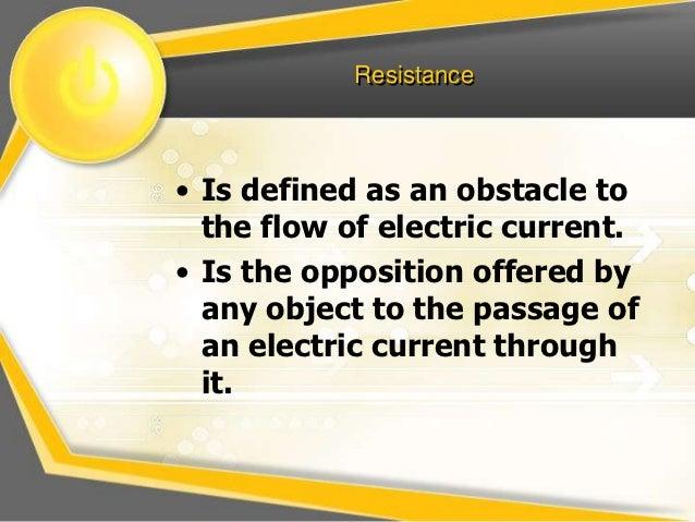 factors affecting resistance