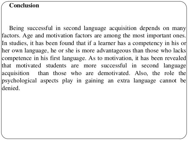 factors affecting english learning language among Motivational factors in the esl classroom  among college students who were  to be self-motivated in learning english as a second language,.