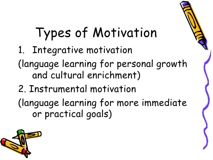 motivation n second language learning An essay on the types of motivation in second language learning this essay  aims to explore how it affects a student's learning experience.