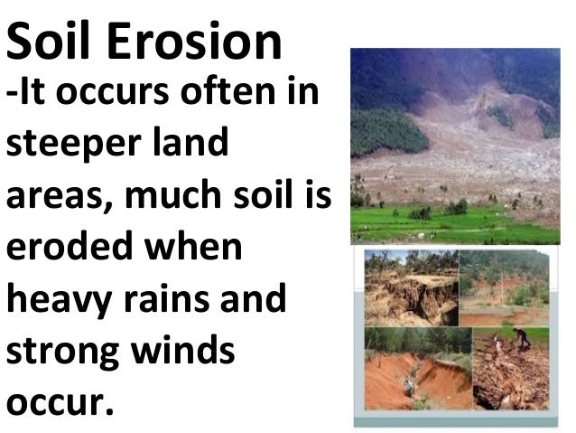 what are the agents of soil formation