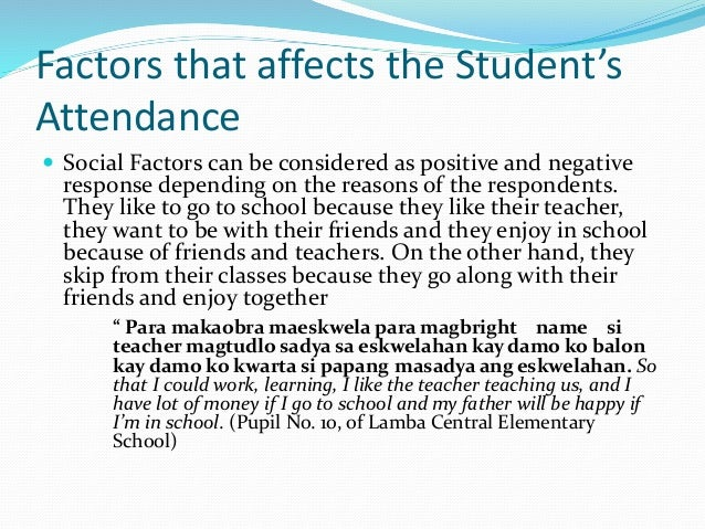 factors affecting the bsba student during This refers to the student trainees who are currently enrolled business  administration students of the university of manila in their practicum.