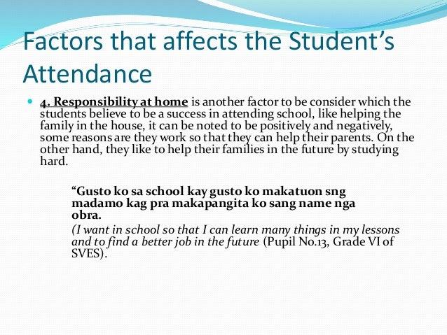 Factors affecting grades of freshmen students