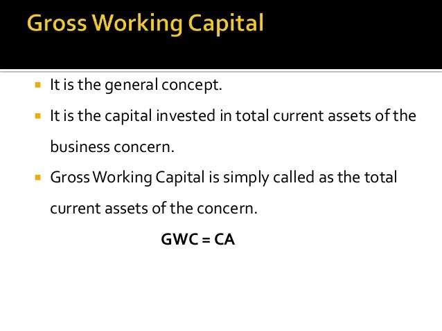 factors influencing working capital The factors discussed above influence the quantum of working capital in the business the assessment of working capital requirement is made keeping these factors in view each constituent of working capital retains its form for a certain period and that holding period is determined by the factors discussed above.