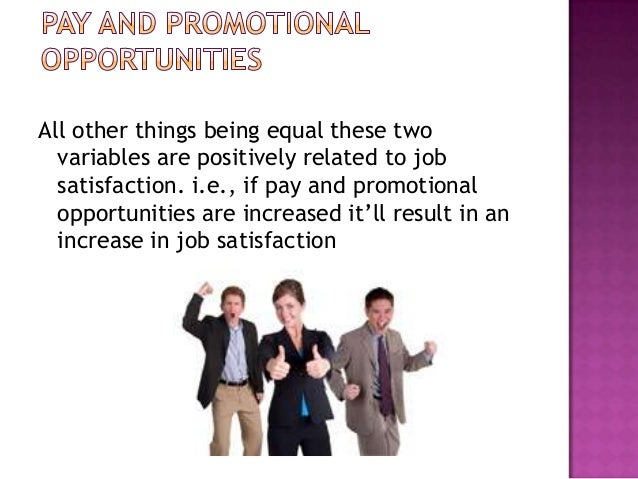 factors determining job satisfaction of employees Motivation and job satisfaction 1  crucial factors that impact employees'long term job  thus determining their job satisfaction.