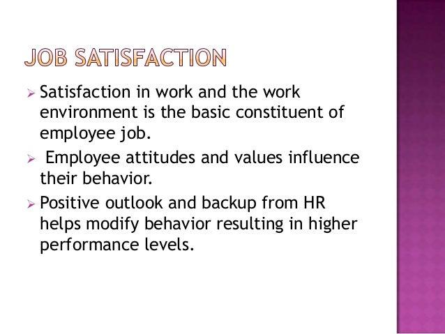 Factors of employee satisfaction towards employee