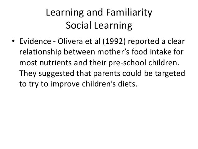 factors that influence attitudes to food Many factors influence food choices, as food choice is not a simple process   through their influence on attitudes, and so on expressed food preferences.