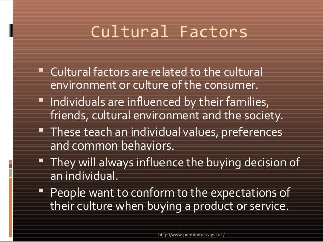 factors affecting consumer buying preferences A study of buying decision influencers for suggested that there are few factors which helps in affecting preferences of of price on consumer buying decision.