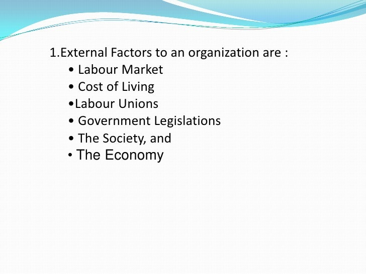 factors that influence an employee to What are the top factors that drive employee  retention factors for collective turnover  do high commitment human resource practices affect employee commitment a.