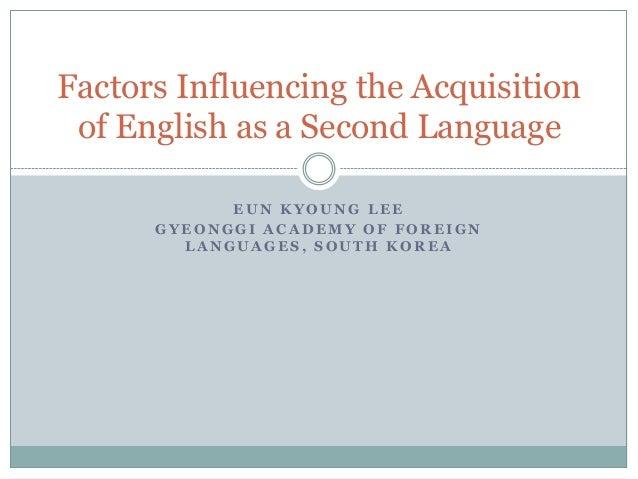 2nd language education