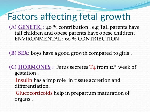 factors influencing growth and development essay Healthy personality development is dependent on certain traits reliant on gene environment interactions,  essay on factors influencing growth and development.