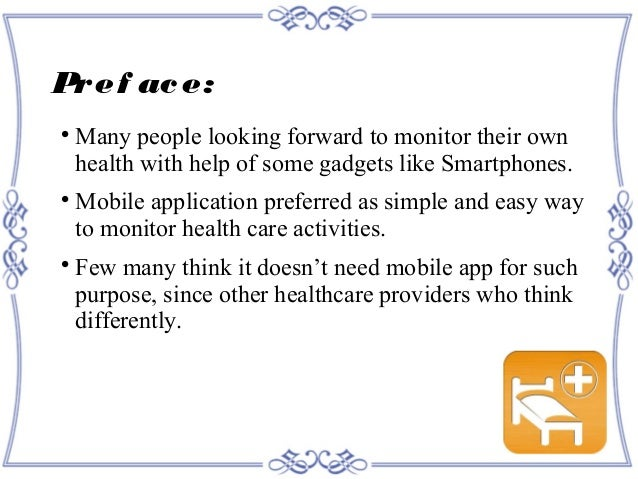 Must alter components in Healthcare Mobile Apps looking to future fa…